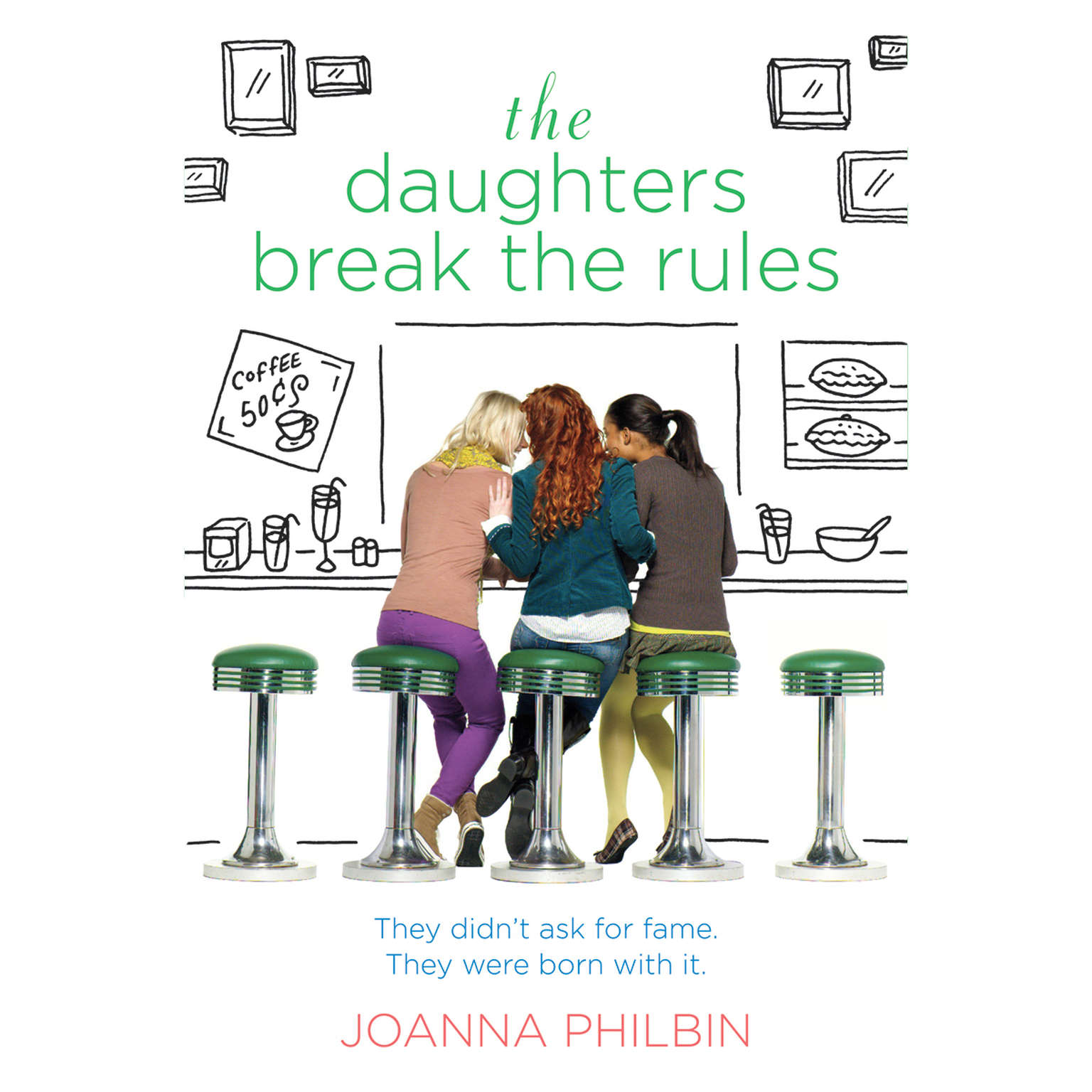 Printable The Daughters Break the Rules Audiobook Cover Art