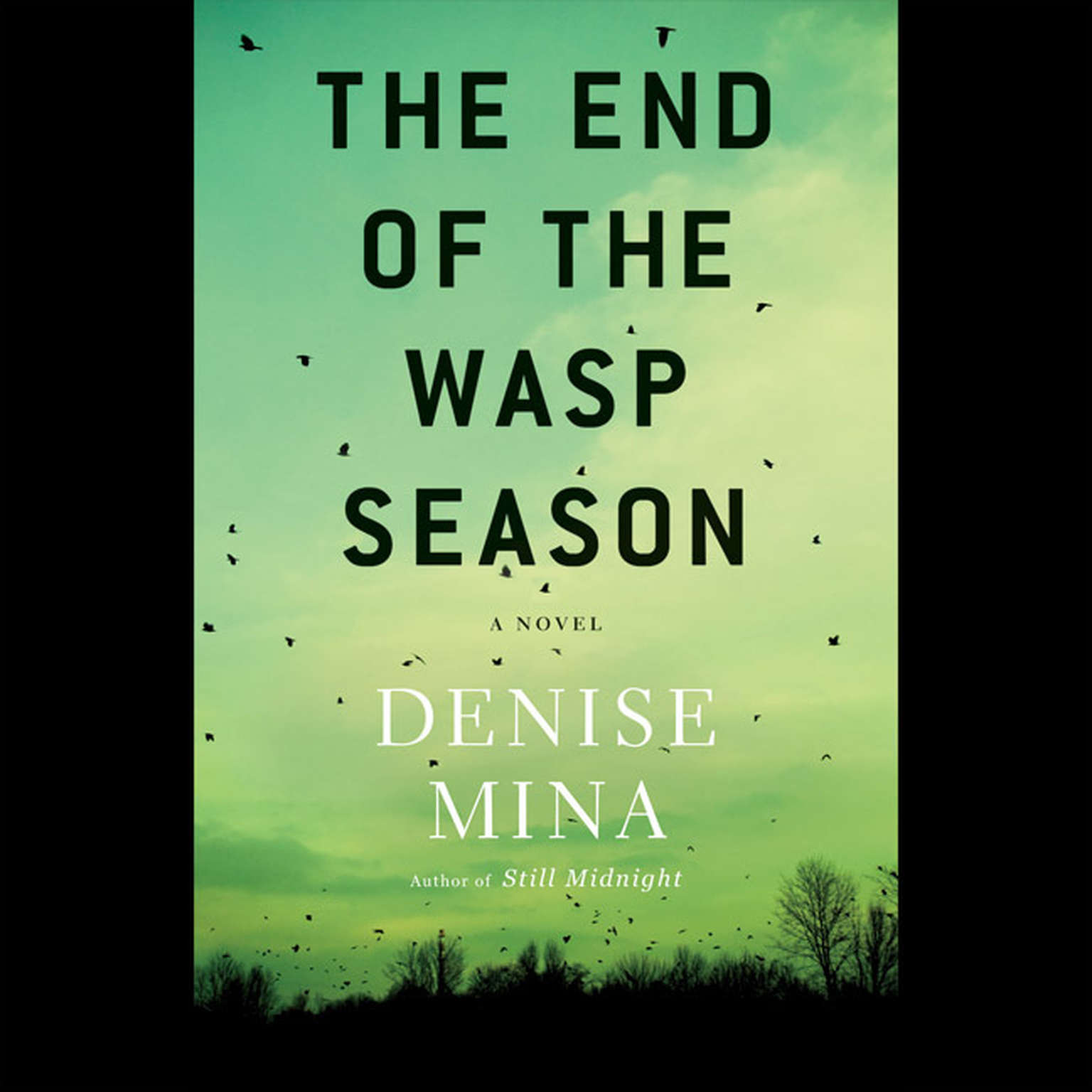Printable The End of the Wasp Season: A Novel Audiobook Cover Art