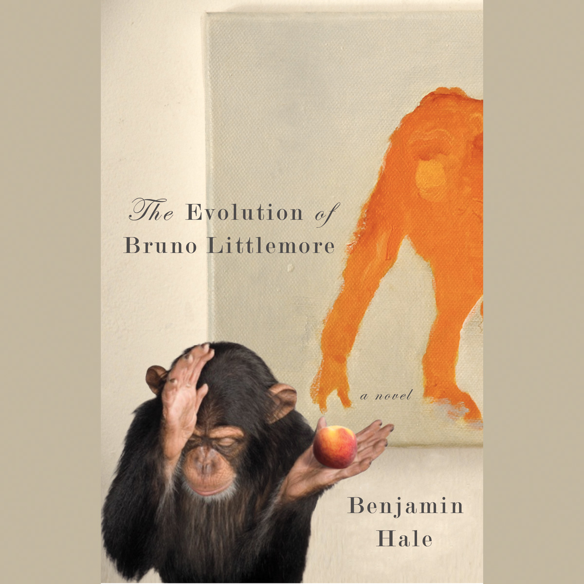 Printable The Evolution of Bruno Littlemore Audiobook Cover Art