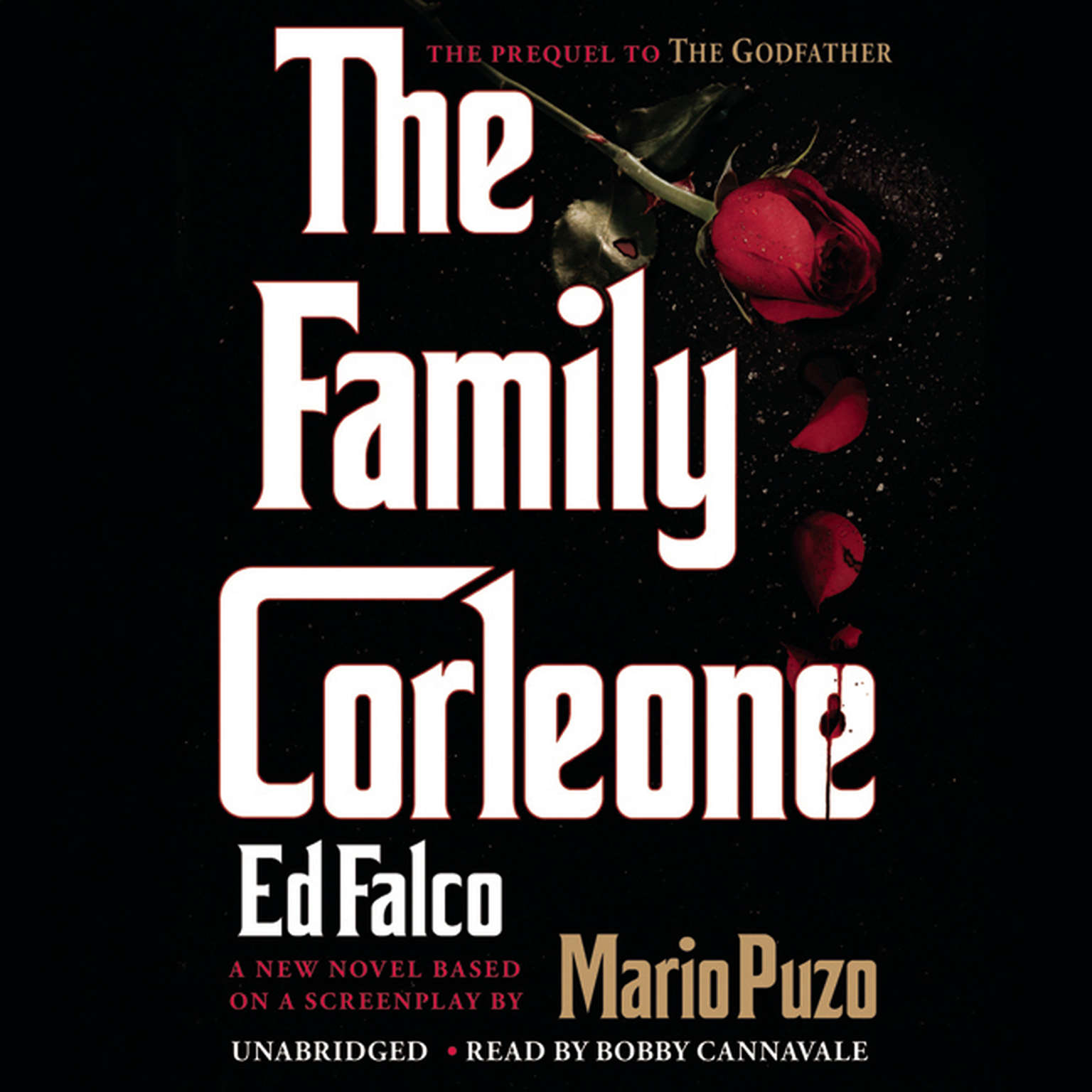 Printable The Family Corleone Audiobook Cover Art