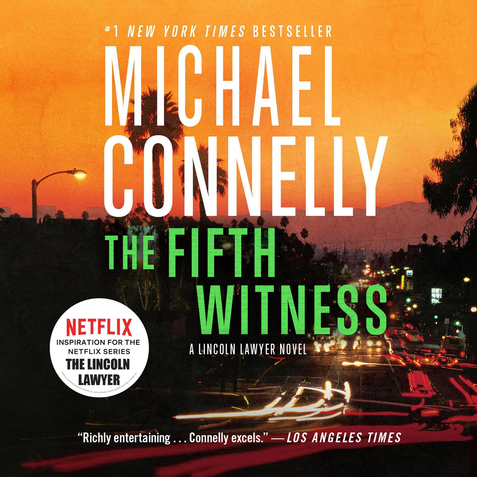 Printable The Fifth Witness Audiobook Cover Art