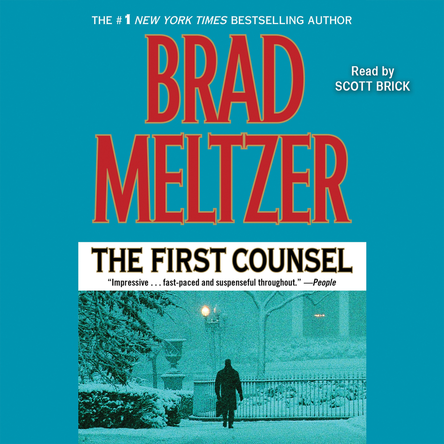 Printable First Counsel Audiobook Cover Art