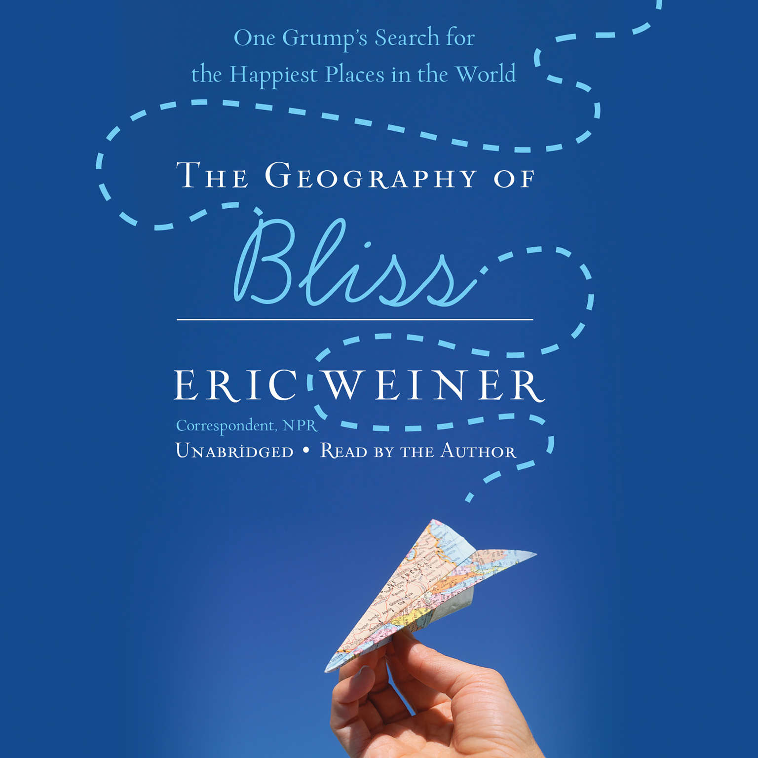 Printable The Geography of Bliss: One Grump's Search for the Happiest Places in the World Audiobook Cover Art