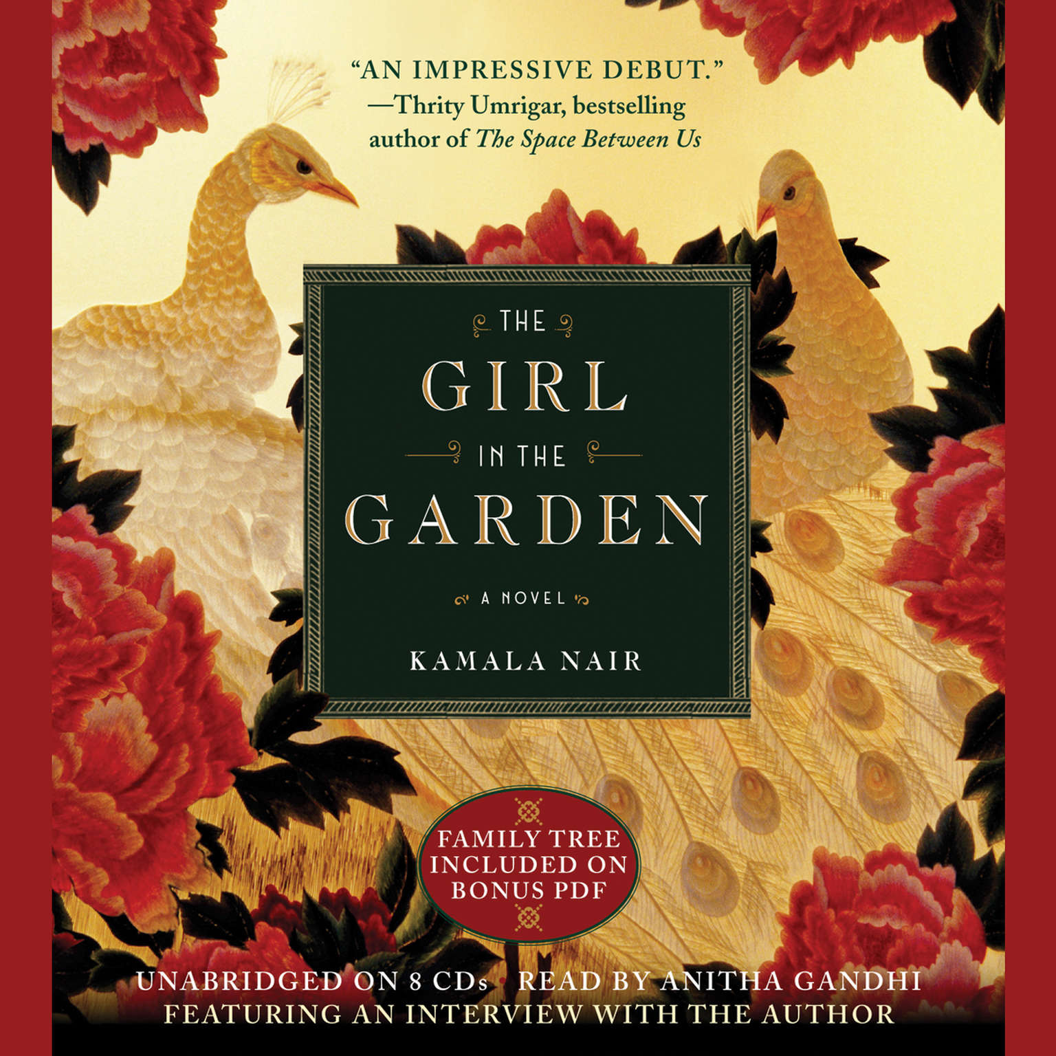 Printable The Girl in the Garden Audiobook Cover Art