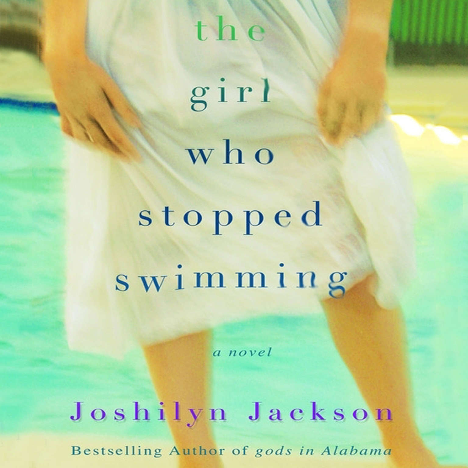 Printable The Girl Who Stopped Swimming Audiobook Cover Art