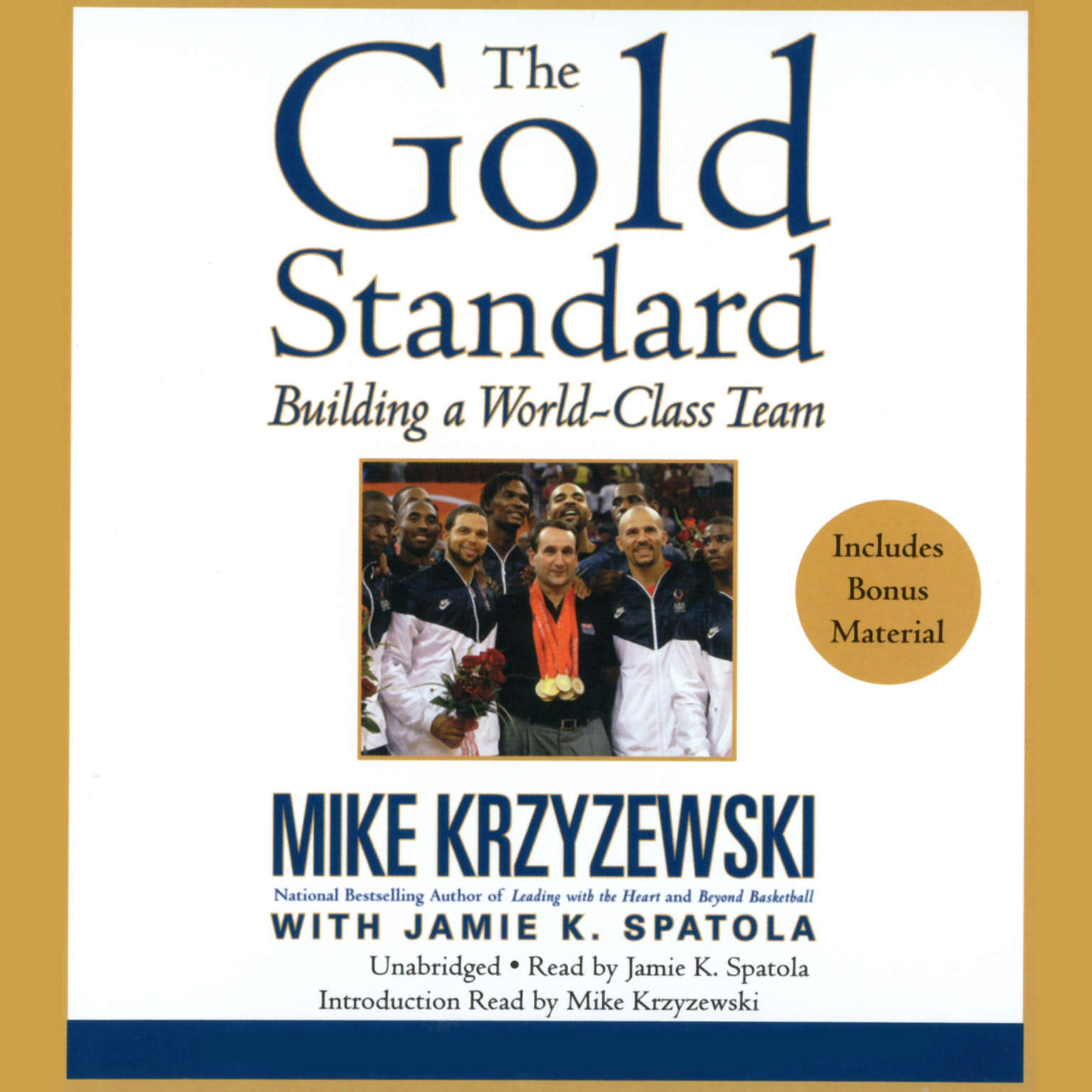 Printable The Gold Standard: Building a World-Class Team Audiobook Cover Art