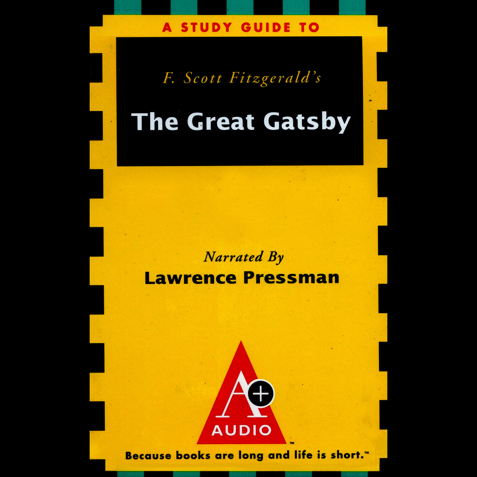 Printable A+ Audio Study Guide: The Great Gatsby Audiobook Cover Art