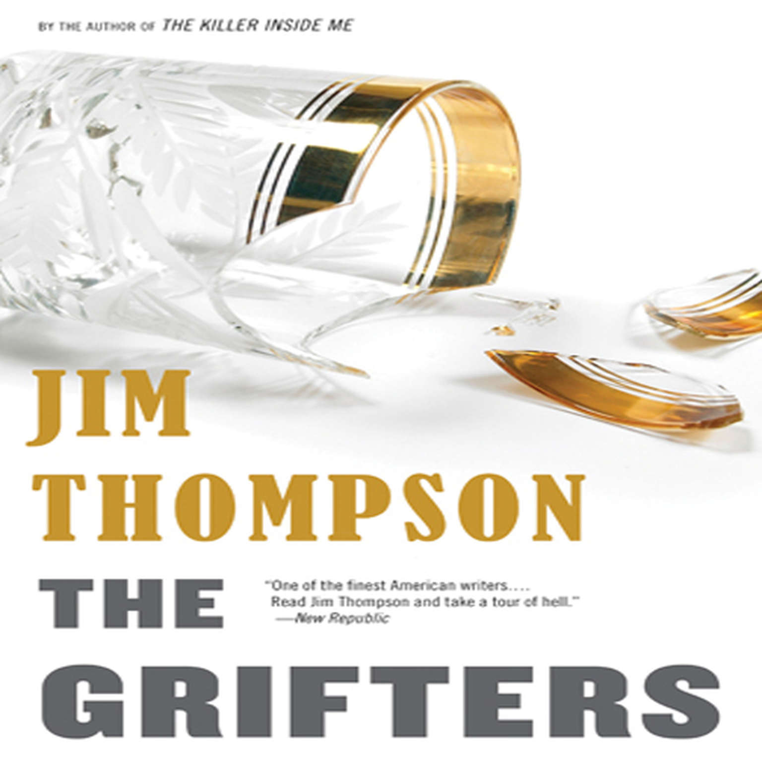 Printable The Grifters Audiobook Cover Art