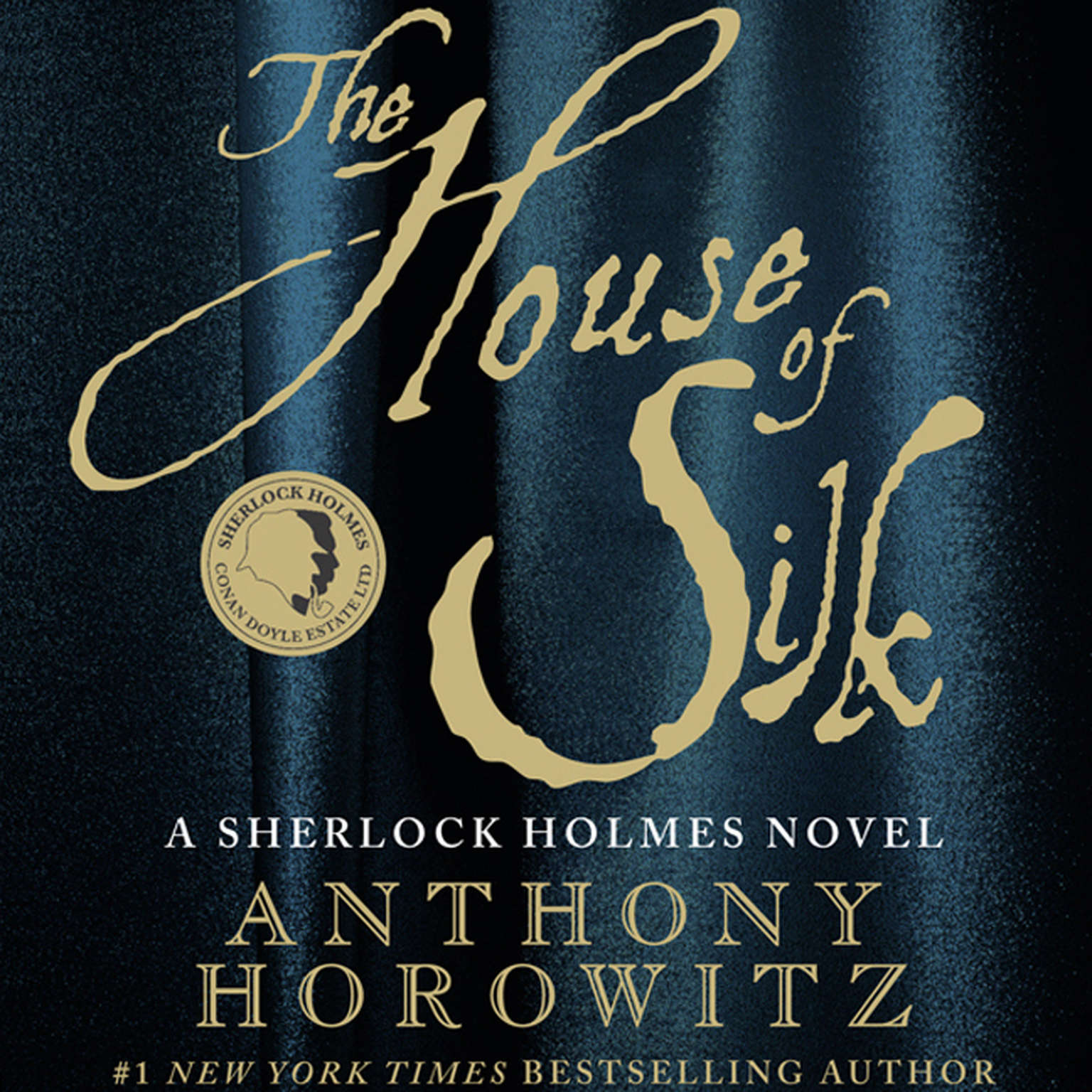 Printable The House of Silk: A Sherlock Holmes Novel Audiobook Cover Art