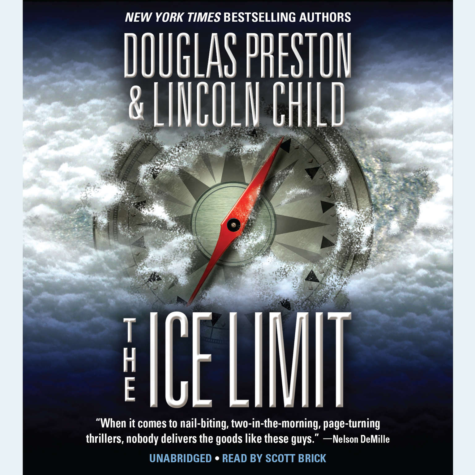 Printable The Ice Limit Audiobook Cover Art