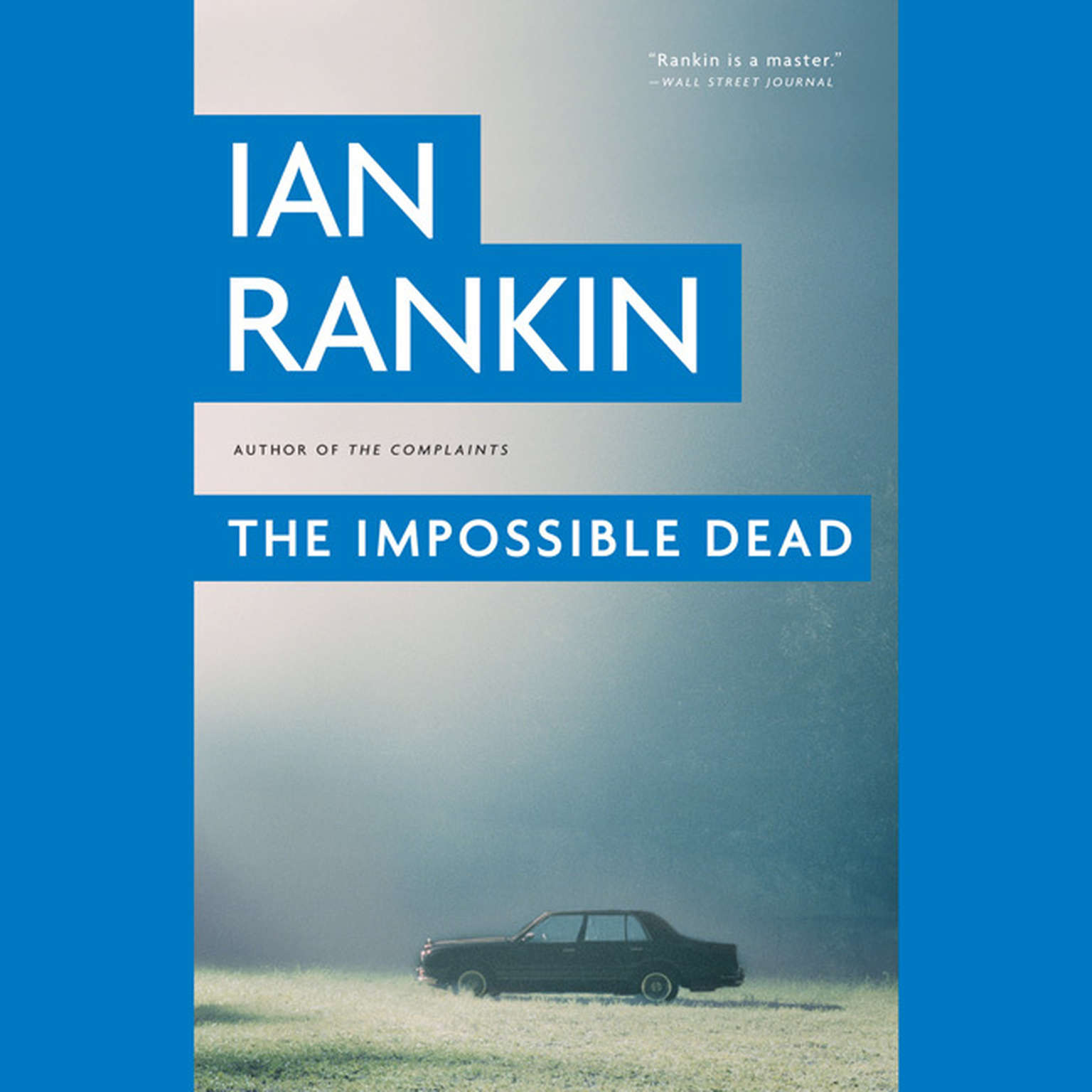 Printable The Impossible Dead Audiobook Cover Art