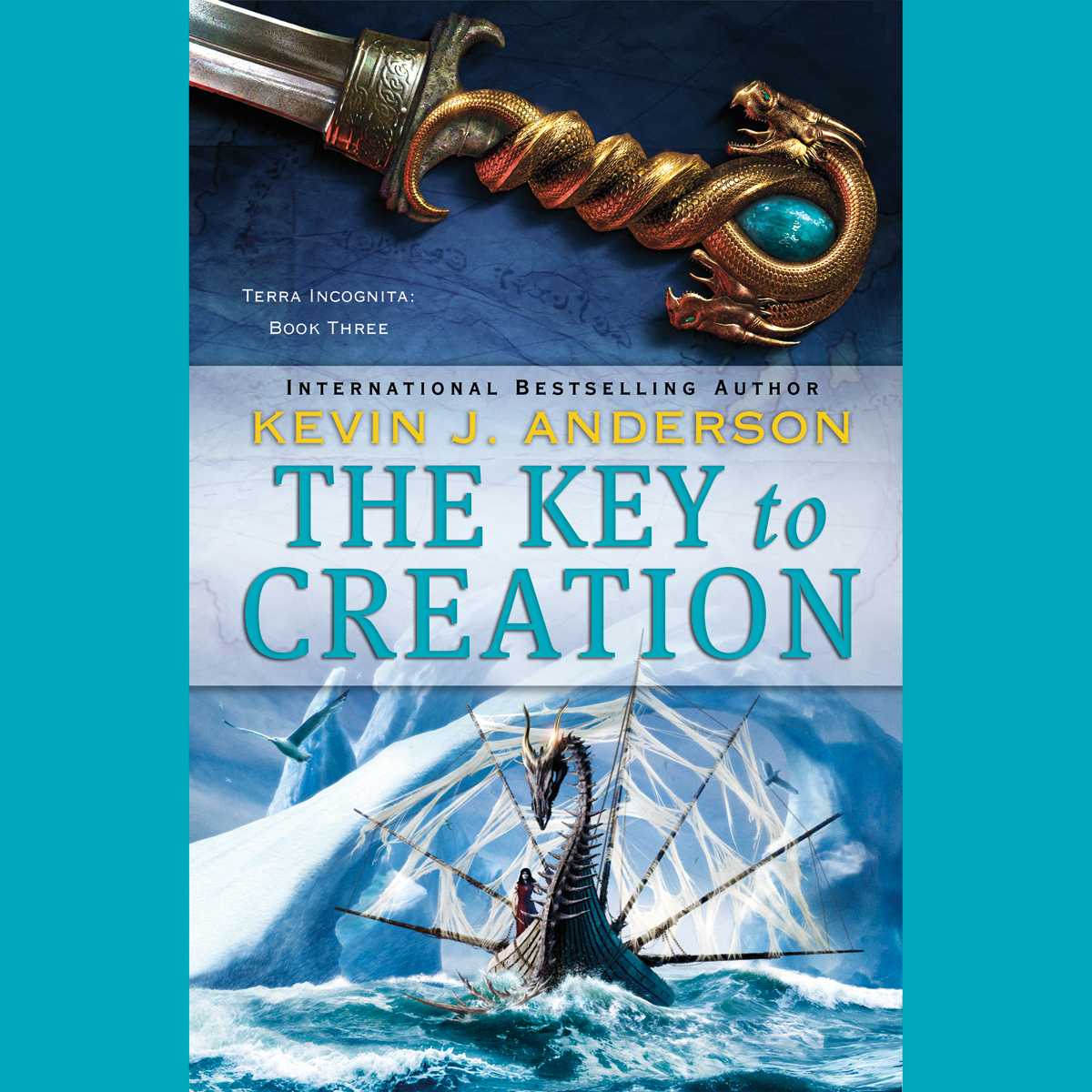 Printable The Key to Creation Audiobook Cover Art
