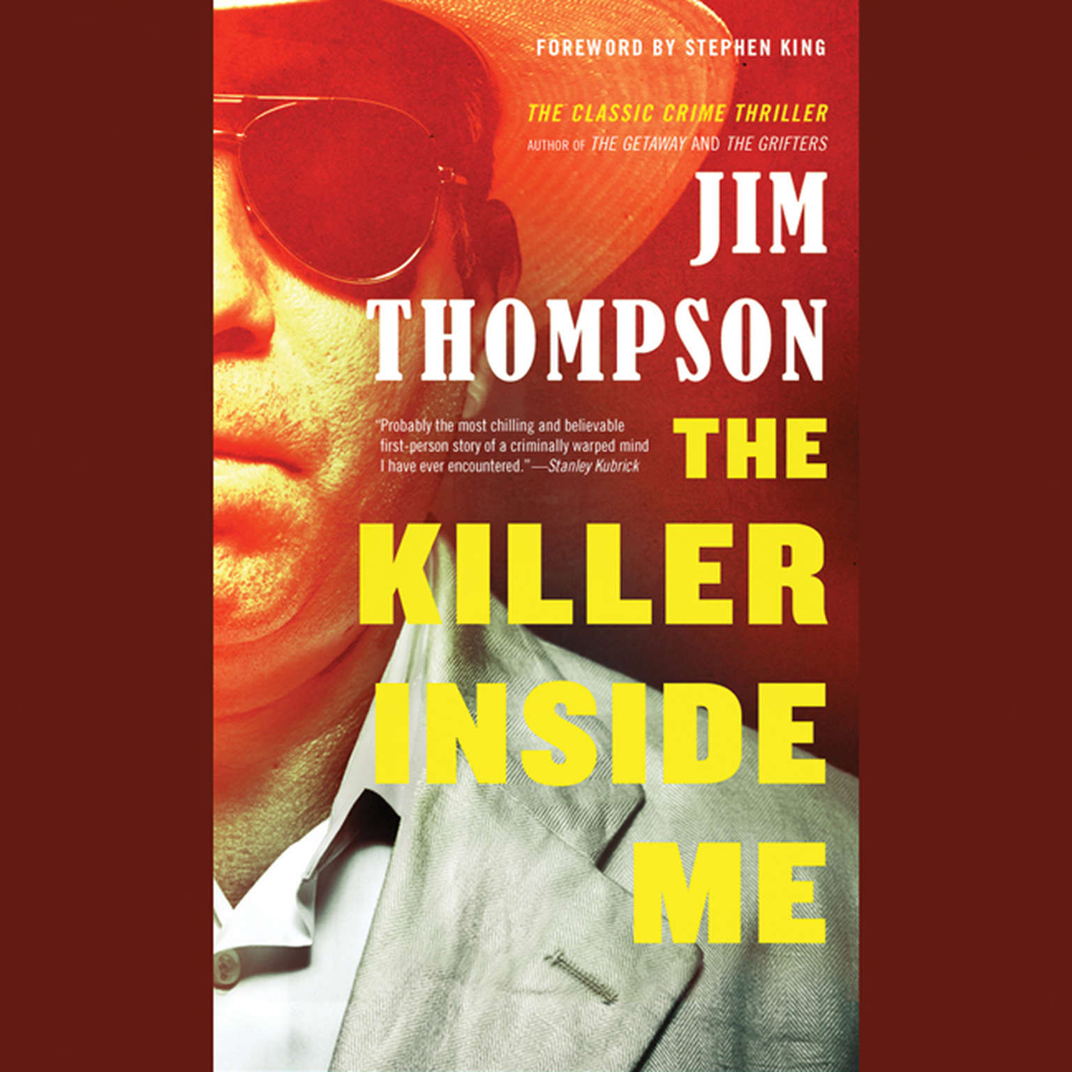 Printable The Killer inside Me Audiobook Cover Art