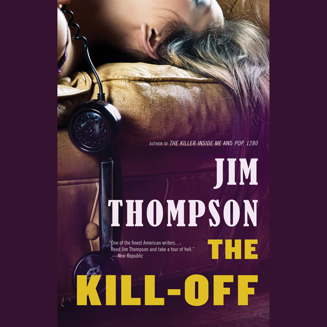 Printable The Kill-Off Audiobook Cover Art