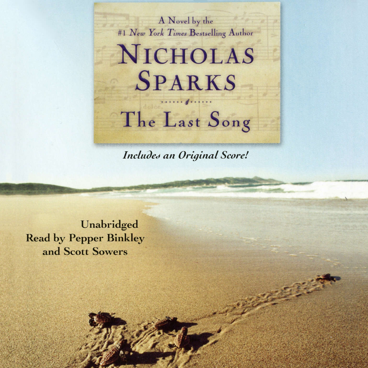 Printable The Last Song Audiobook Cover Art