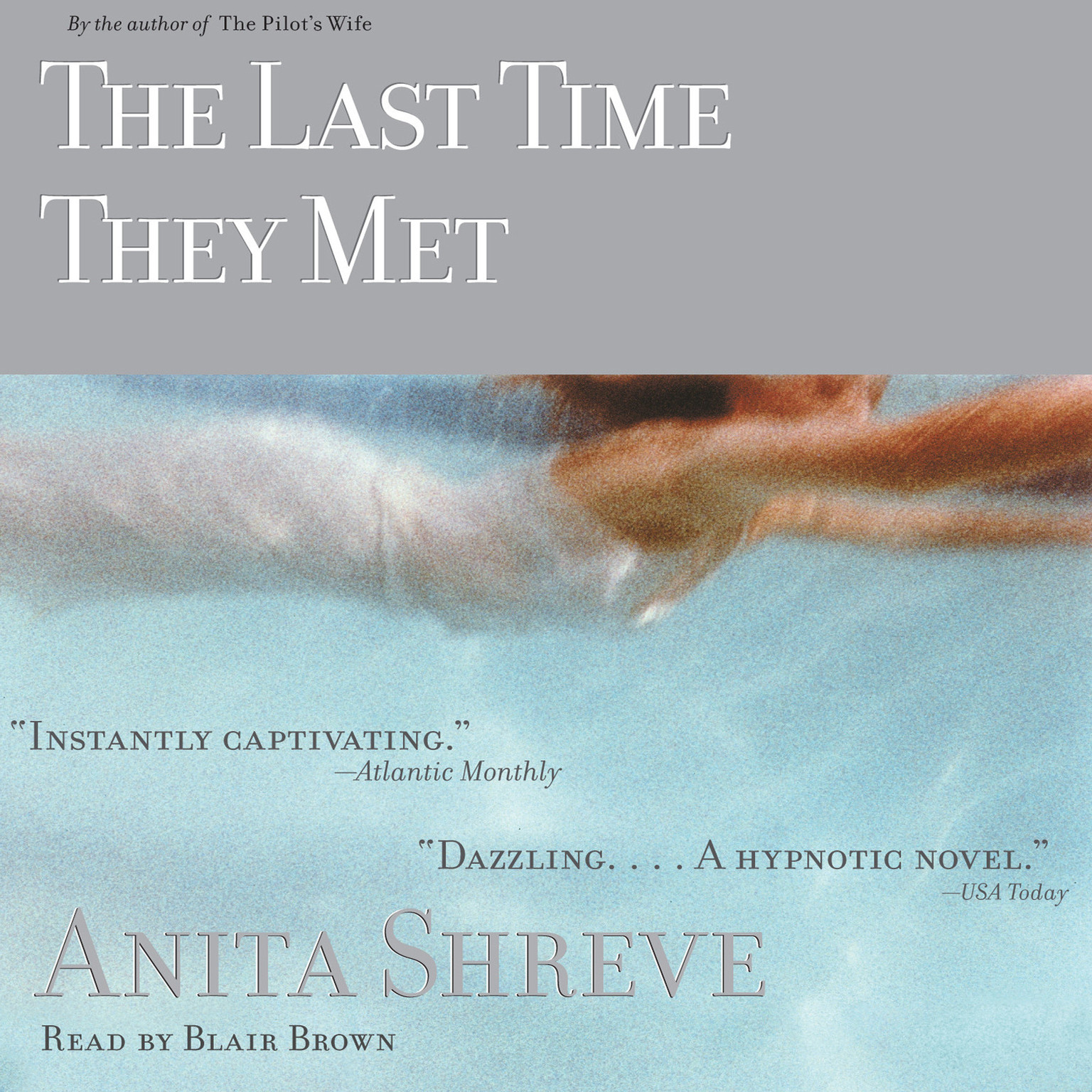Printable The Last Time They Met Audiobook Cover Art