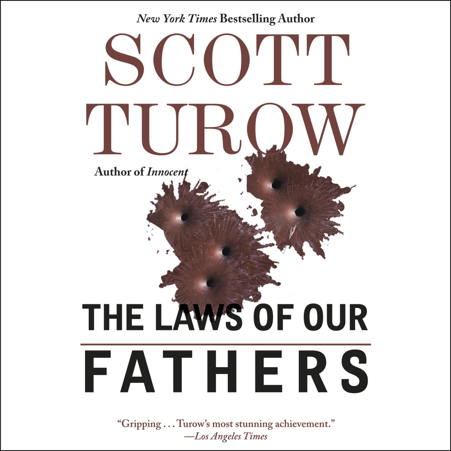Printable The Laws of Our Fathers Audiobook Cover Art