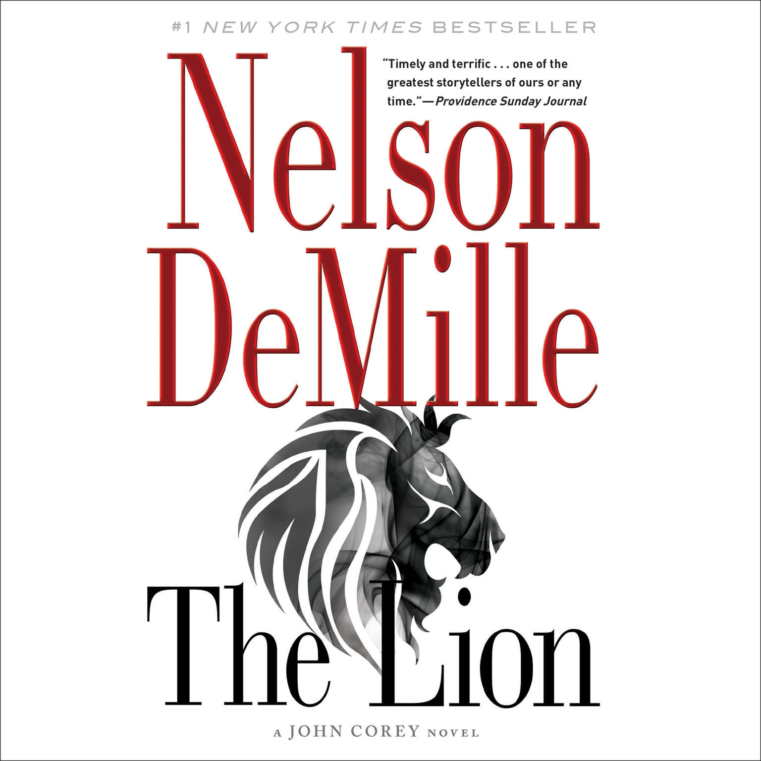 Printable The Lion Audiobook Cover Art