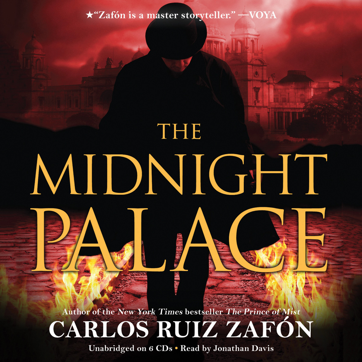 Printable The Midnight Palace Audiobook Cover Art