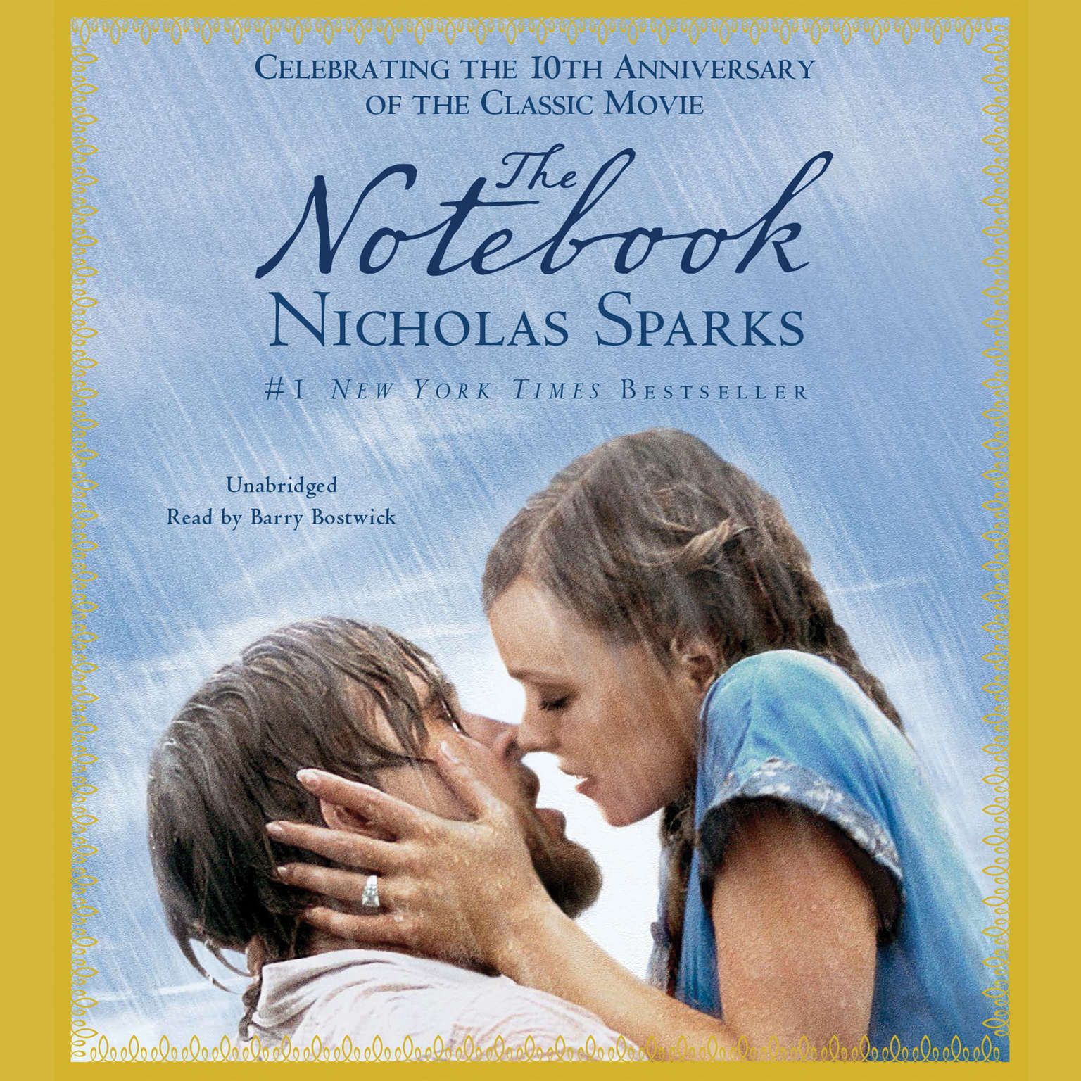 Printable The Notebook Audiobook Cover Art