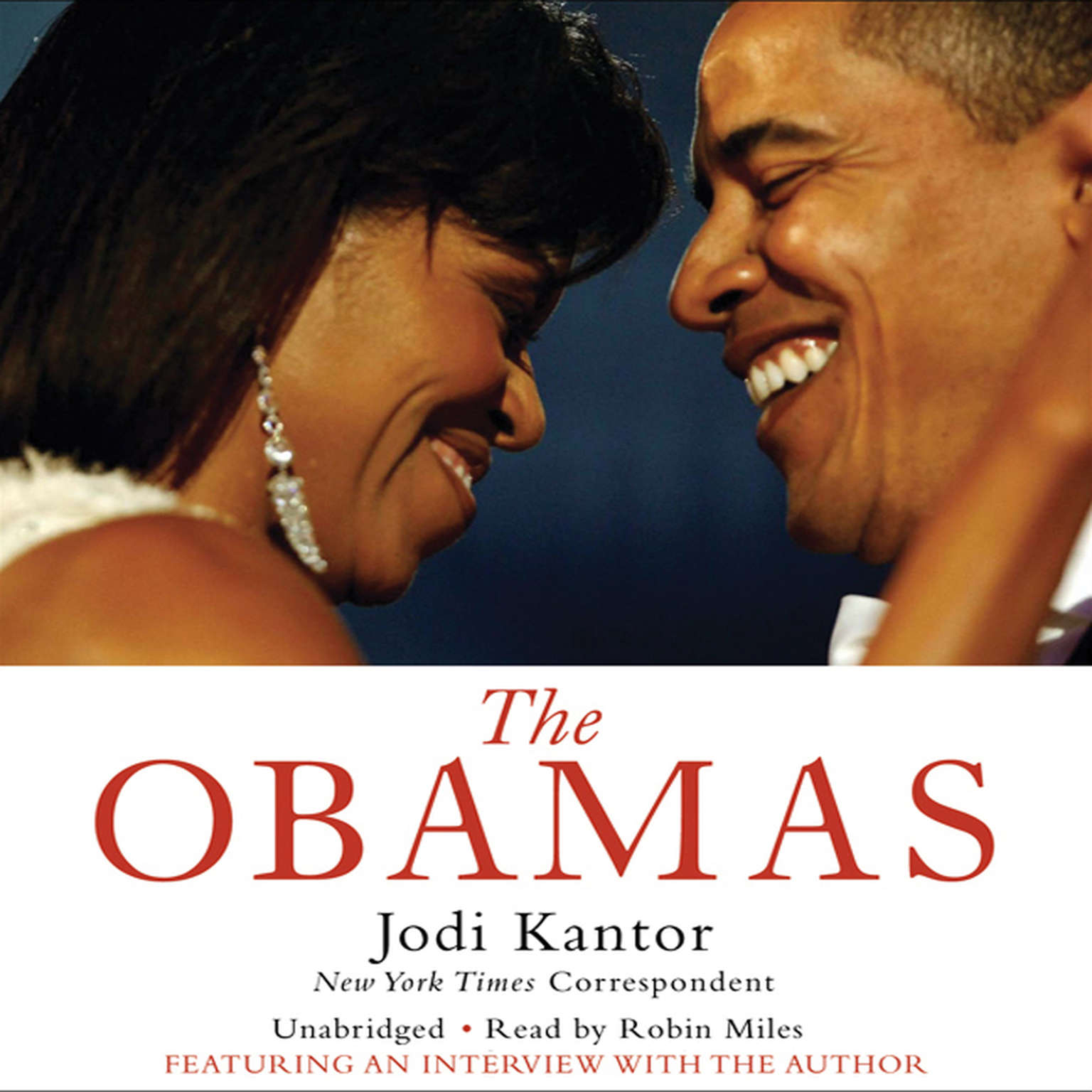 Printable The Obamas Audiobook Cover Art