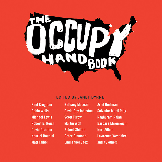 Printable The Occupy Handbook Audiobook Cover Art