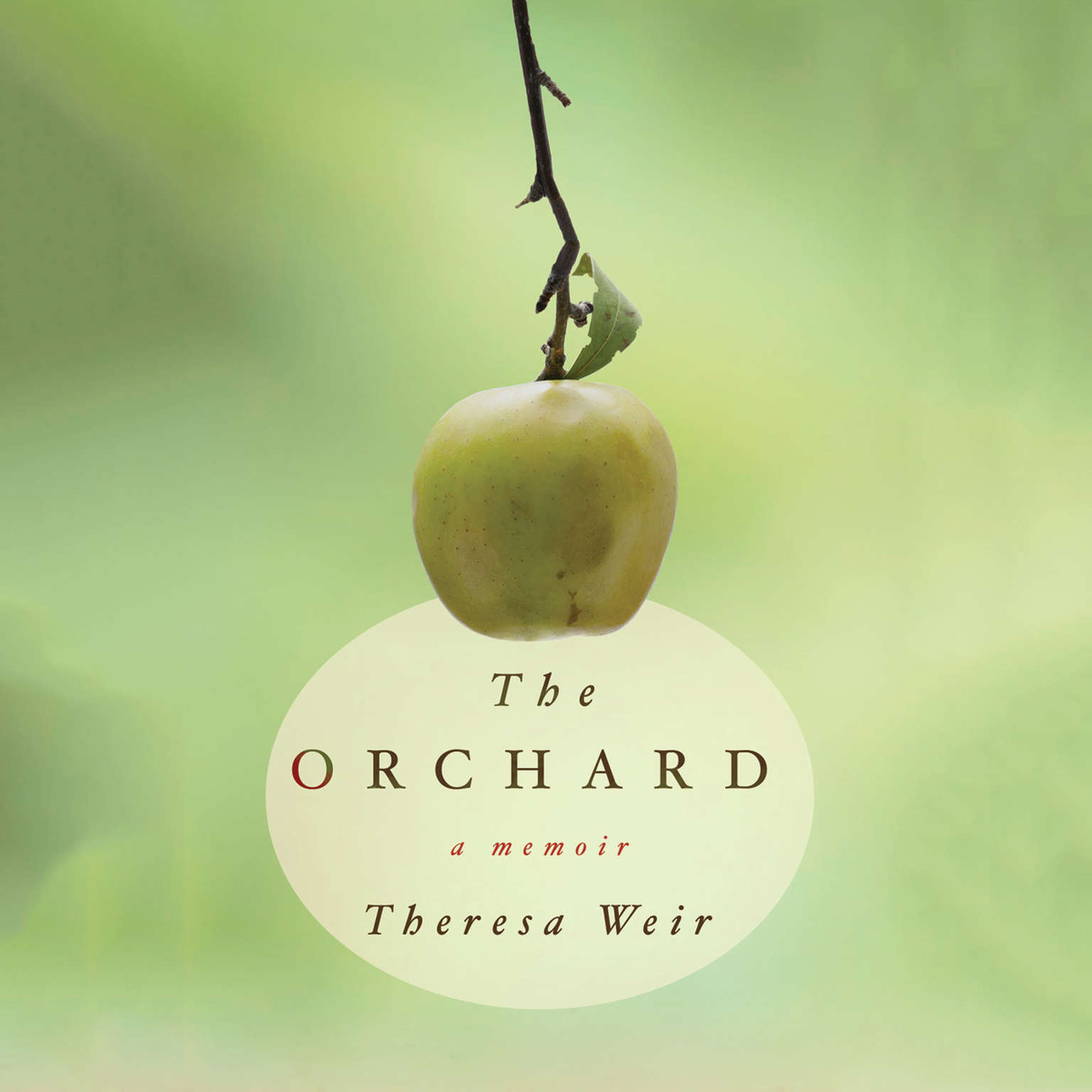 Printable The Orchard: A Memoir Audiobook Cover Art