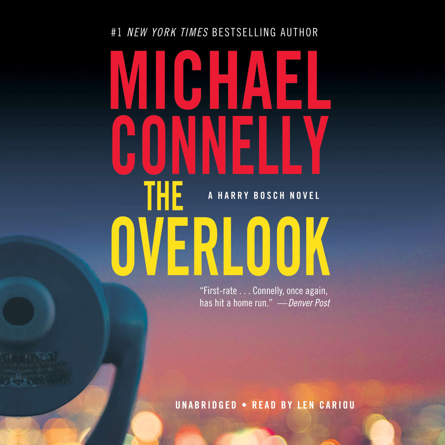 Printable The Overlook: A Novel Audiobook Cover Art
