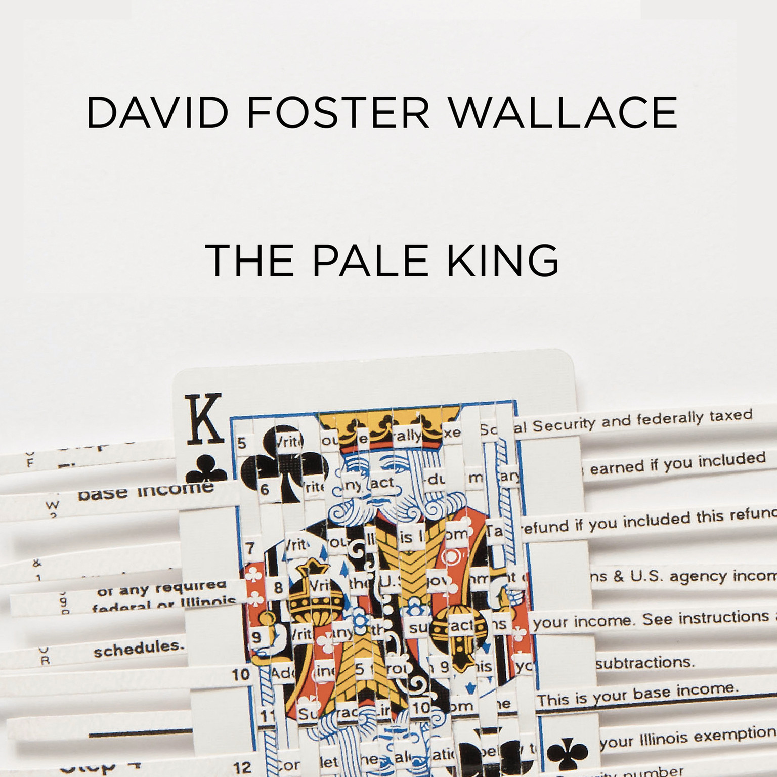 Printable The Pale King Audiobook Cover Art