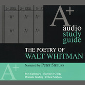 The Poetry of Walt Whitman: An A+ Audio Study Guide, by Kirsten Silva Gruesz