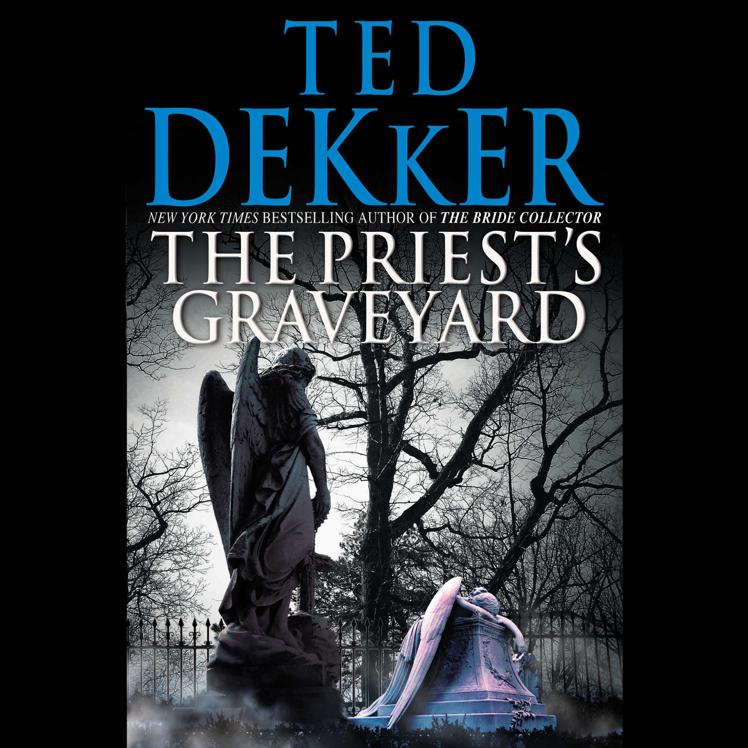 Printable The Priest's Graveyard Audiobook Cover Art