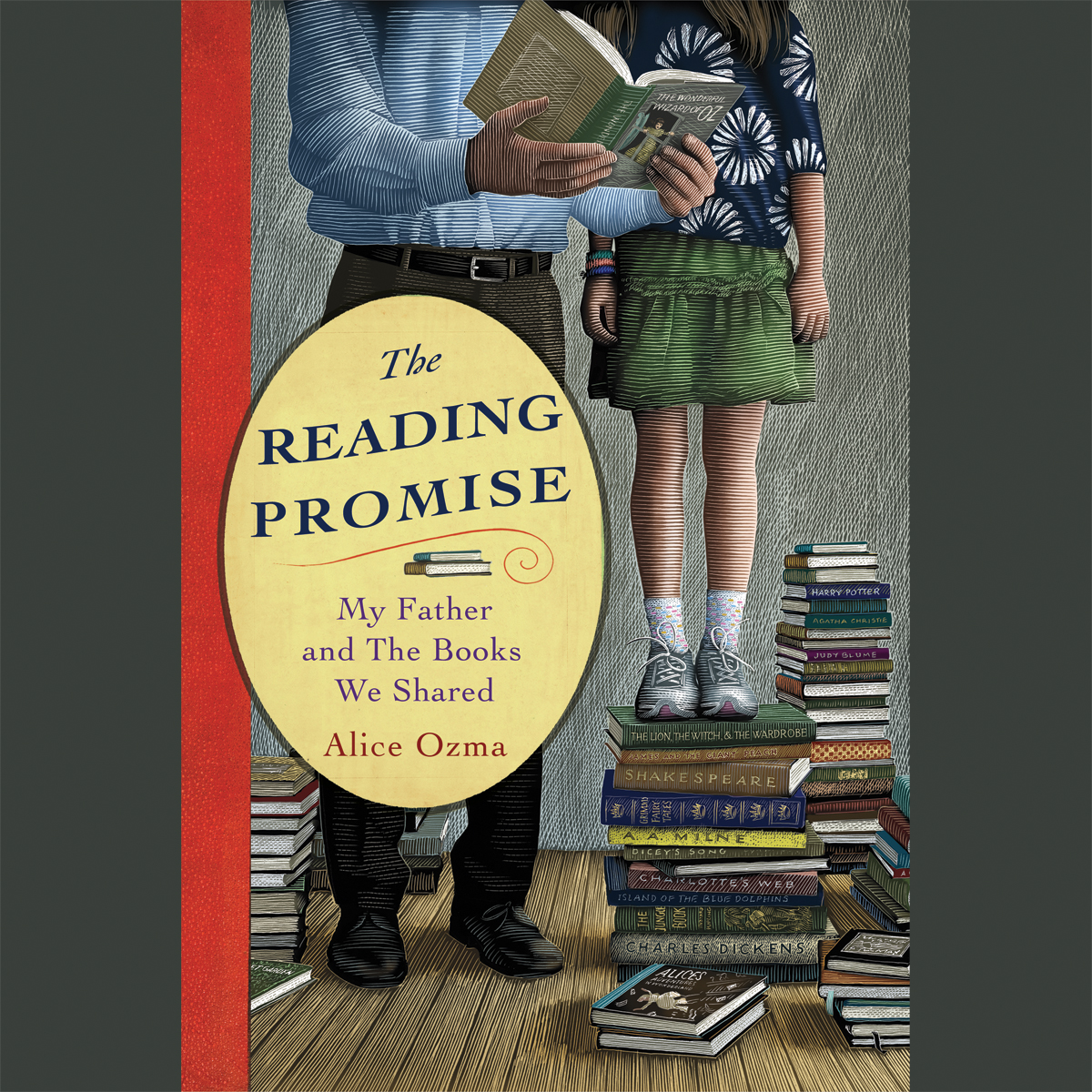 Printable The Reading Promise: My Father and the Books We Shared Audiobook Cover Art
