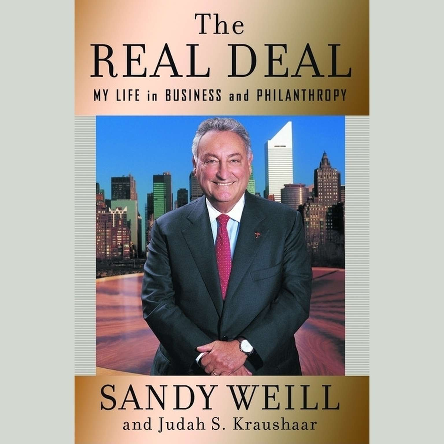 Printable The Real Deal: My Life in Business and Philanthropy Audiobook Cover Art