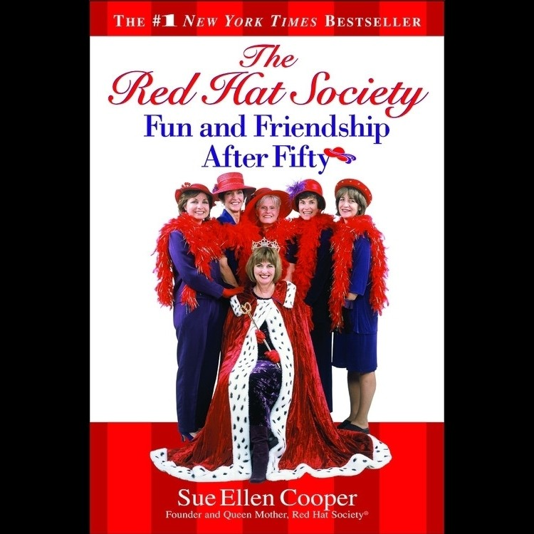 Printable The Red Hat Society™: Fun and Friendship After Fifty Audiobook Cover Art