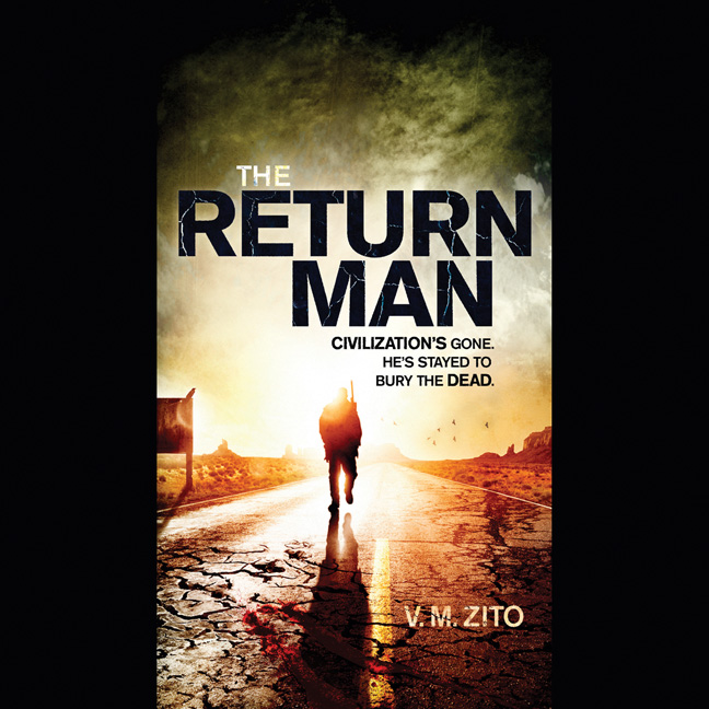 Printable The Return Man Audiobook Cover Art