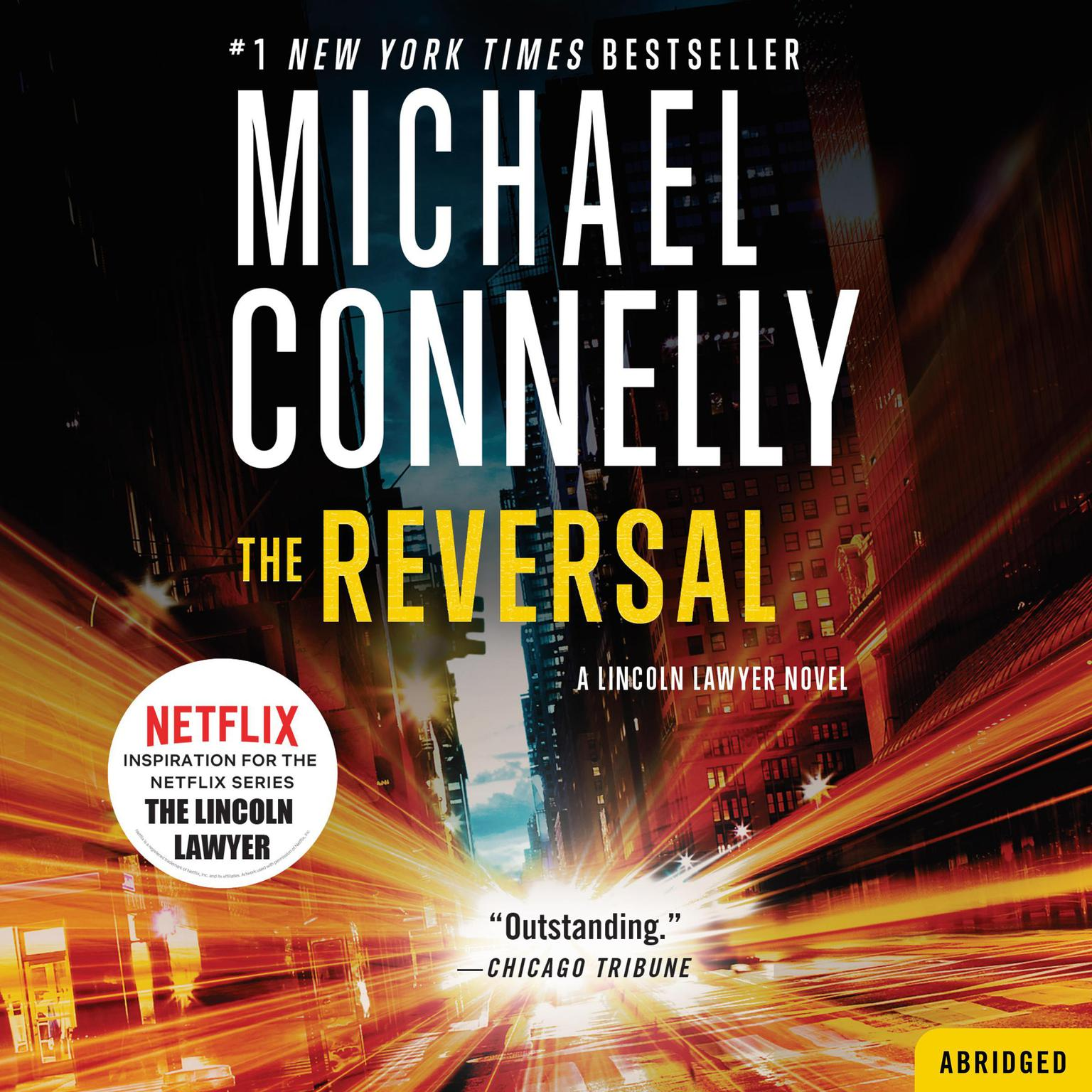 Printable The Reversal Audiobook Cover Art