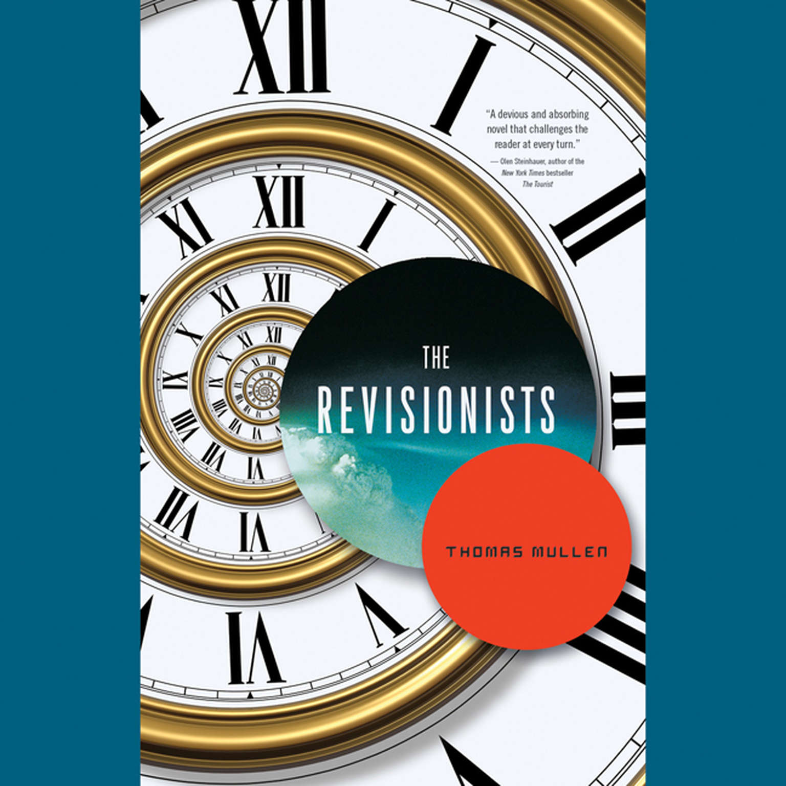 Printable The Revisionists Audiobook Cover Art