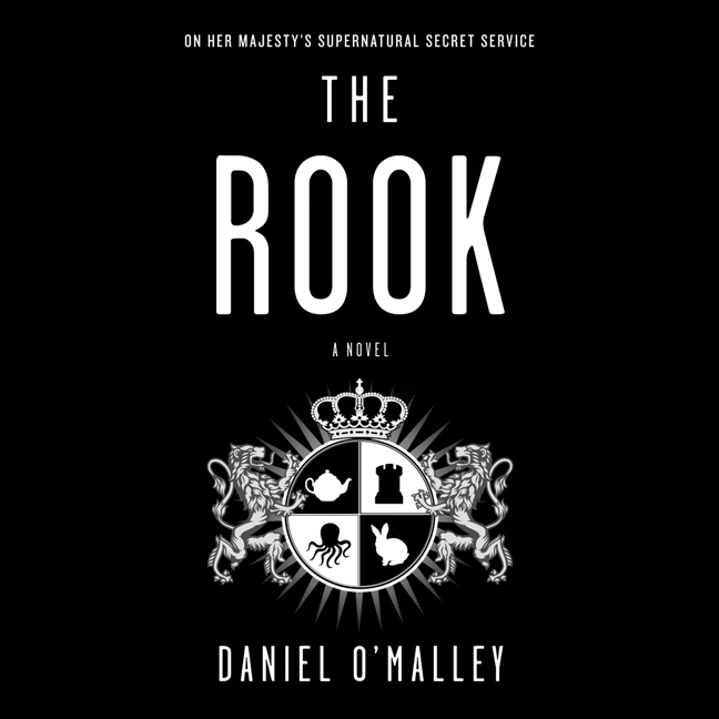 Printable The Rook: A Novel Audiobook Cover Art