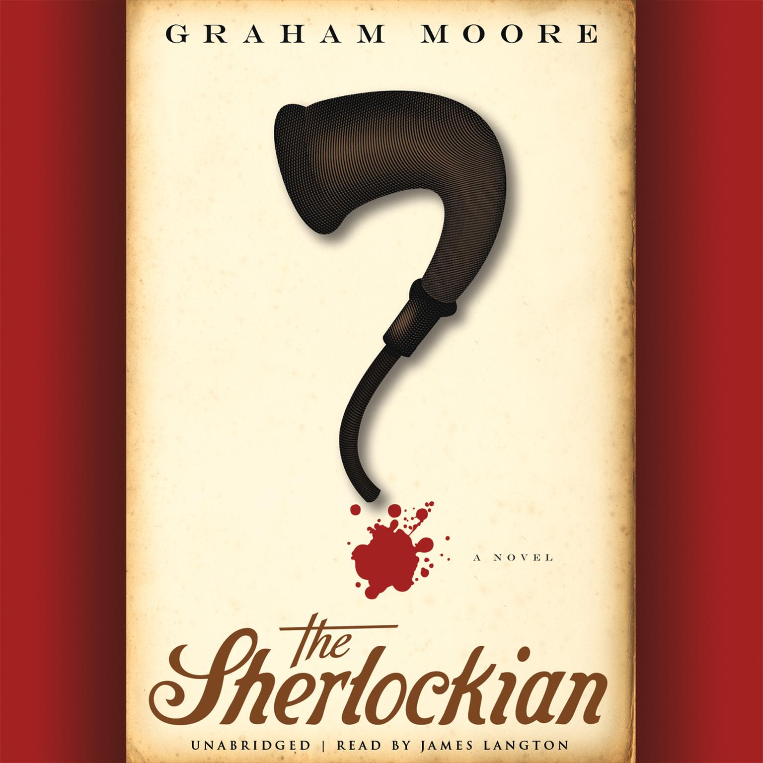 Printable The Sherlockian Audiobook Cover Art
