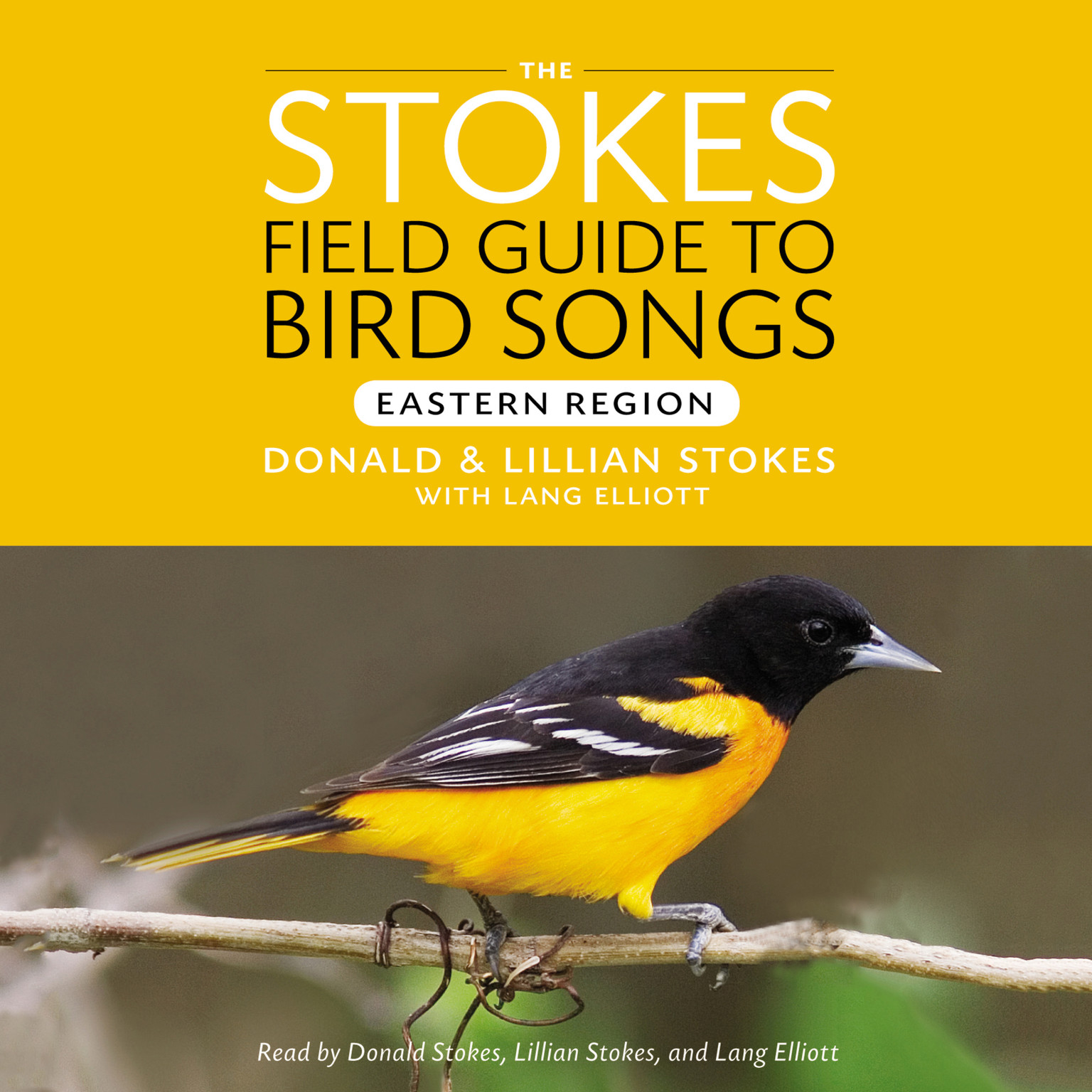 Printable Stokes Field Guide to Bird Songs: Eastern Region: Eastern Region Audiobook Cover Art