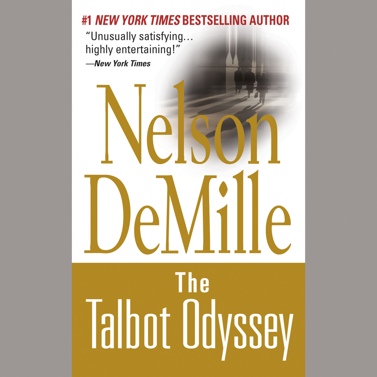 Printable The Talbot Odyssey Audiobook Cover Art