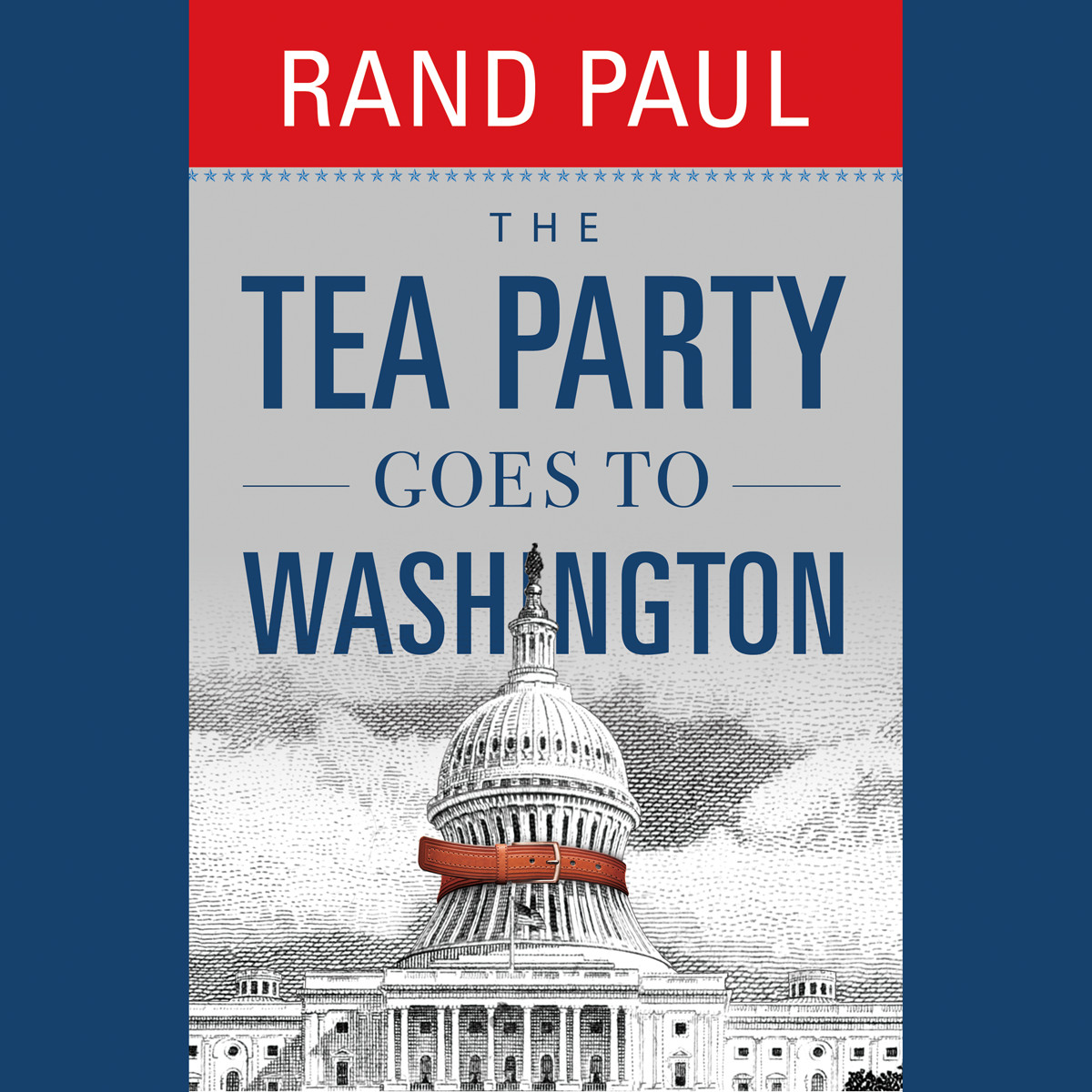 Printable The Tea Party Goes to Washington Audiobook Cover Art