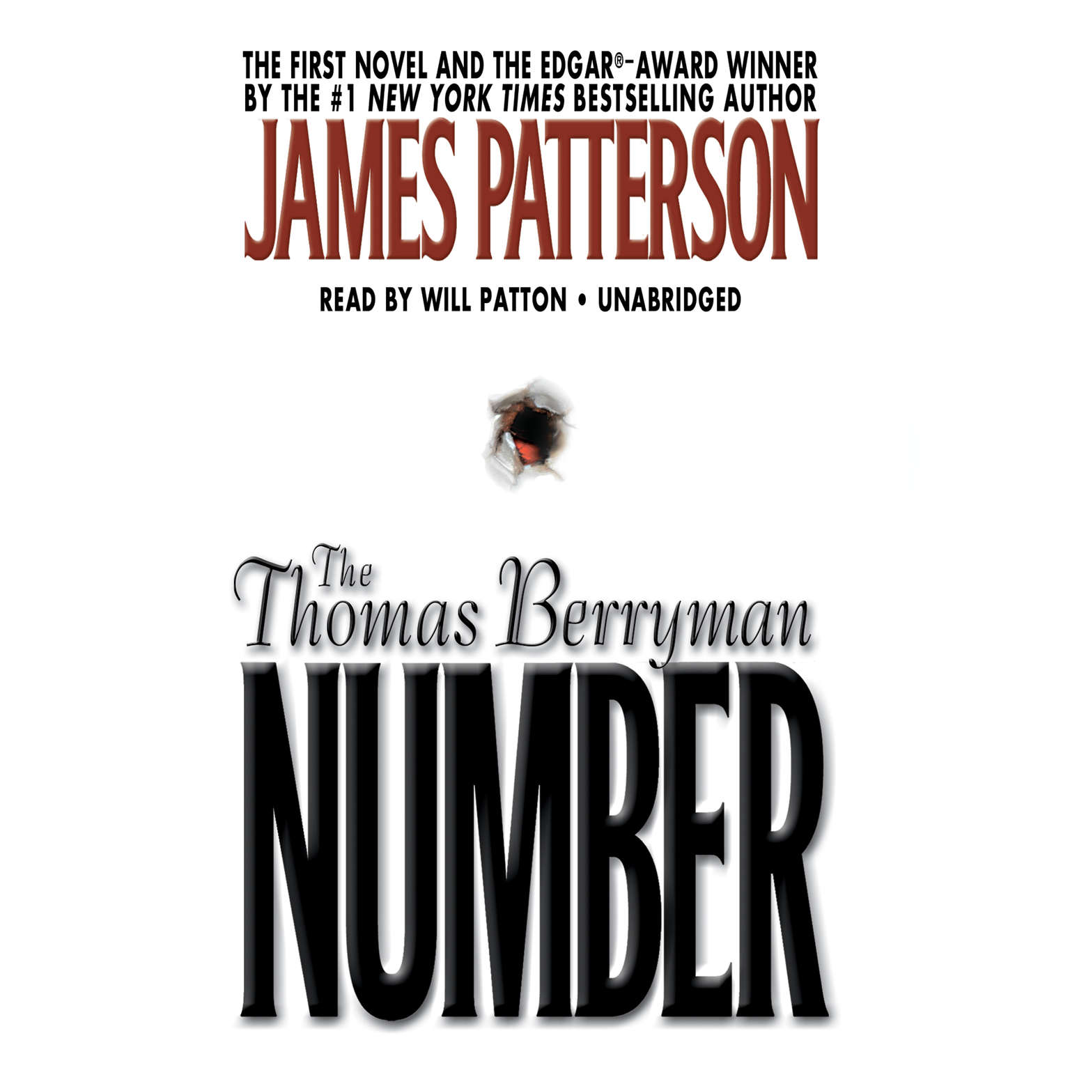 Printable The Thomas Berryman Number Audiobook Cover Art