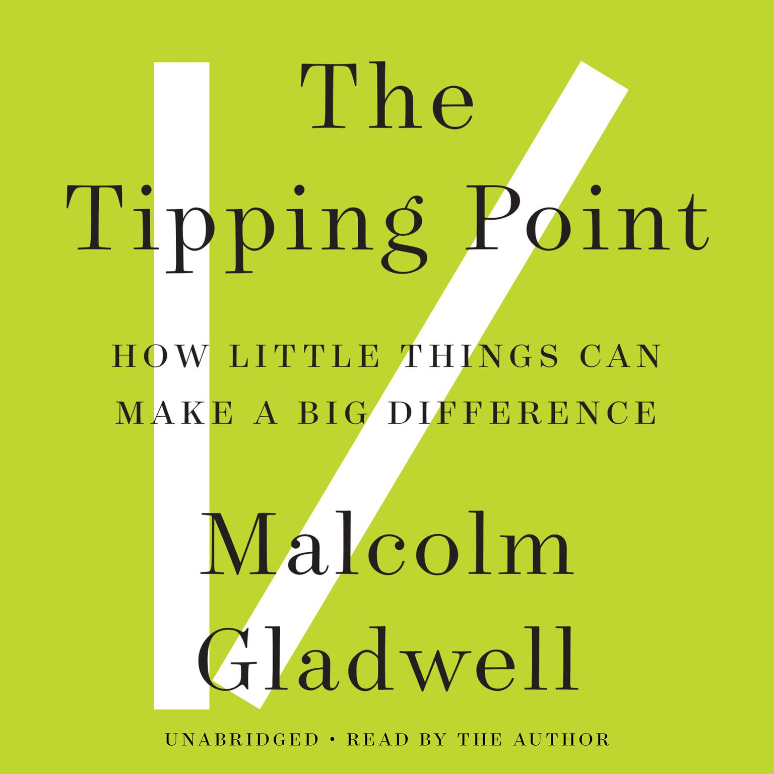 Printable The Tipping Point: How Little Things Can Make a Big Difference Audiobook Cover Art