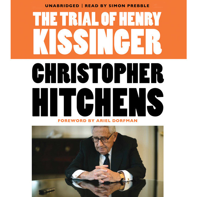 Printable The Trial of Henry Kissinger Audiobook Cover Art
