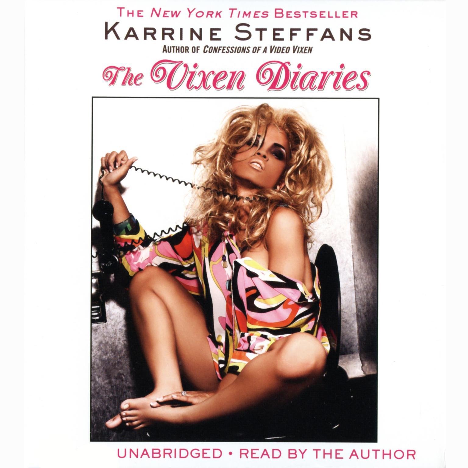 Printable The Vixen Diaries Audiobook Cover Art