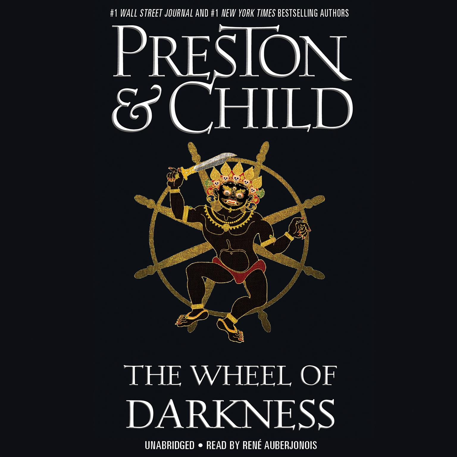 Printable The Wheel of Darkness Audiobook Cover Art