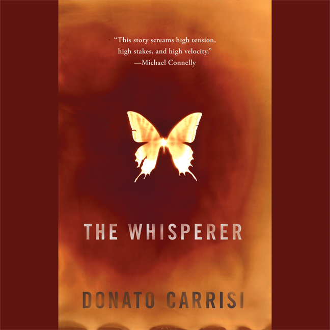 Printable The Whisperer Audiobook Cover Art