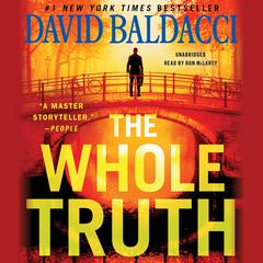 The Whole Truth Audiobook, by David Baldacci