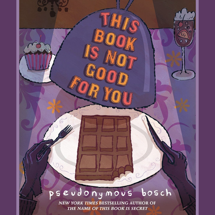 Printable This Book Is Not Good for You Audiobook Cover Art